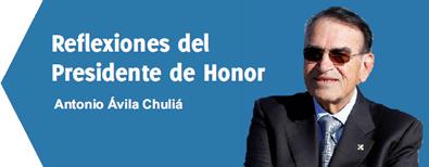Reflexiones del Presidente de Honor