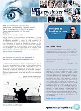 Newsletter AES - 57 - Septiembre 2019
