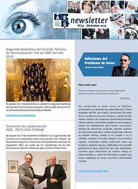 Newsletter AES - 59 - Diciembre 2019