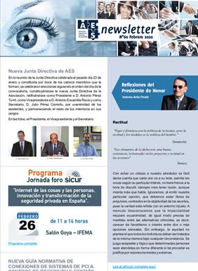 Newsletter AES - 60 - Febrero 2020